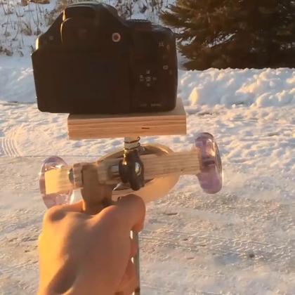 自己做相机稳定器,首选你得有个相机😂#手工##生活DIY教程##涨姿势#