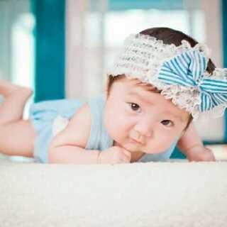 宝宝可以这么可爱呀😘😘😘#萌哒哒、棒棒哒##萌宝宝拍照记##我家宝贝棒棒哒#