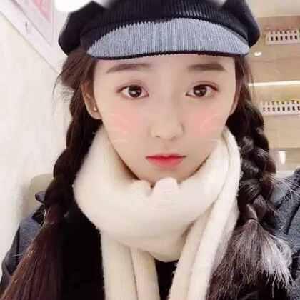 #2017第一个视频自拍#美拍这功能太萌啦,送你们一件礼物,兔锅锅,要不