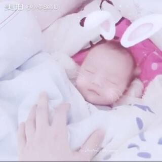 #宝宝##宝宝成长日记#刚出生几天的白小软~💝