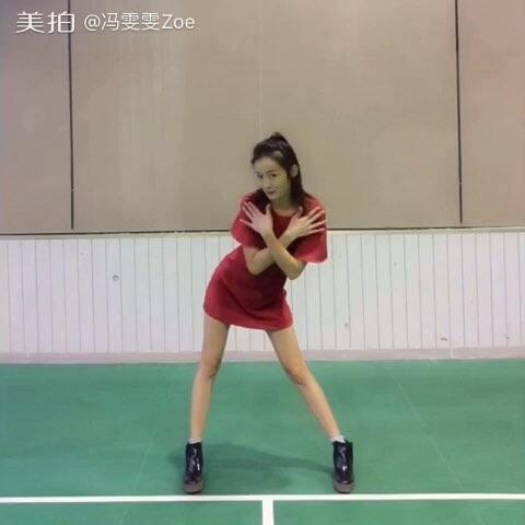 【冯雯雯Zoe美拍】AOA【Excuse Me】#舞蹈#放假了吗...