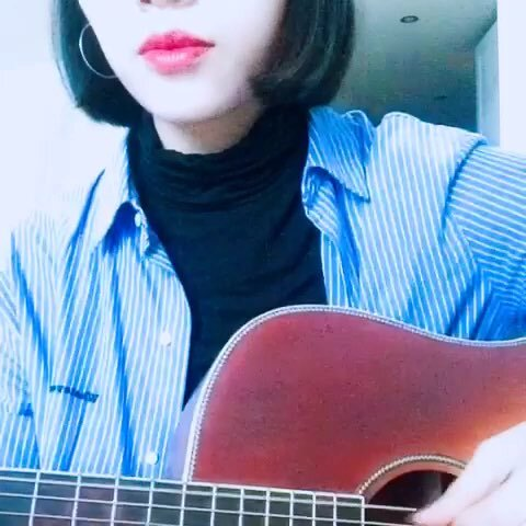 【hanPPZzzz珍珍美拍】#音乐##吉他弹唱#拿出来吃—zion...