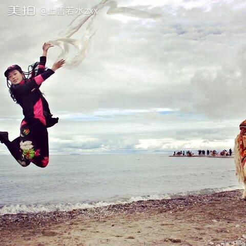 【上善若水zxx美拍】#舞蹈##照片电影#行走在西藏(之...