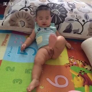 #宝宝抵抗力拜年操##宝宝#