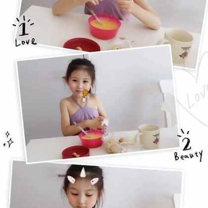 #美拍10秒海报# 猫宁,吃早饭啦~ #宝宝##早安##糖小希#