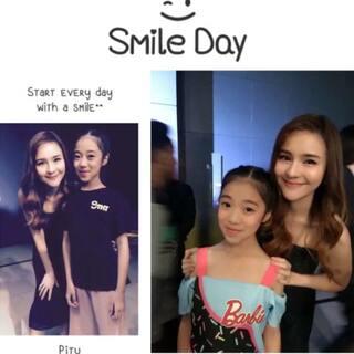 #泰国曼谷#和泰籍明星近距离接触,宝贝们并获得中泰小天使的称号🎉🎉🎉🎉🎉@Aom_李海娜