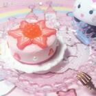 #手工##我要上热门#树莓草莓双味乳酪蛋糕💫原创模仿艾特🌚祝我的小可爱@Yukkkkki⭐️ 生日粗卡~虽然晚了一天但是还是很有诚意的🌝