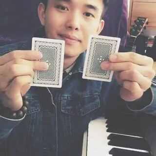 魔术魔术!变脸的国王!😃#魔术##纸牌魔术##小魔术##我要上热门@美拍小助手#