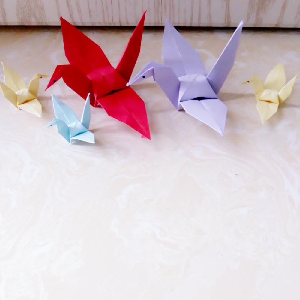 手工折纸# 可以多折一些放在家里,@鹿不羁の小可爱@hua_女王吖@酷酷