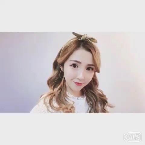 【FangY_方媛美拍】啦啦啦啦~#美妆时尚##卷发教程#...