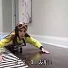 #热门#人坐滑板撞床垫反弹大挑战!最远距离反弹者就胜利✌️#搞笑##逗比#