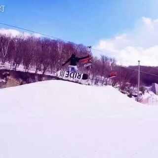 #单板滑雪#我在松花湖公园受伤了#单板公园##gopro#