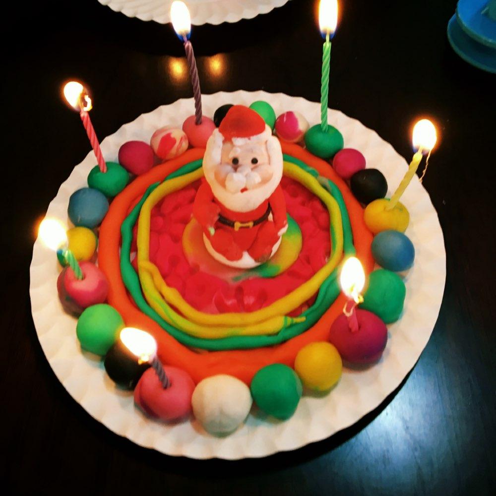橡皮泥做的蛋糕