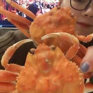 籽蟹,长得好秀气的!#吃秀##随手美拍#