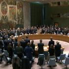 2月21日,安理会为一天前猝然离世的俄罗斯常驻联合国代表丘尔金举行默哀仪式。