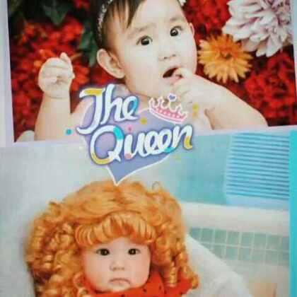 六岁的王尧灵雪姐姐小时候的可爱萌照来和果果合影,也穿越来了!希望果果和小姐姐一起快乐成长,有幸做好朋友一起长大!亮眼睛👀#宝宝##萌宝宝#