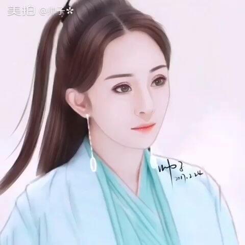 打车白浅和玄女#十里三世三生漫画##白浅##玄桃花的手绘图片
