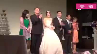 """【台湾一个老爸在女儿婚礼上的致辞】""""婚姻不是1+1=2,而是0.5+0.5=1,结婚之后,你们两个要各去掉一半的个性,才能组成美满的家庭…""""最后老爸嘱咐女婿:我把女儿交给你了,""""有问题你要进原厂,不要自己修理。"""""""
