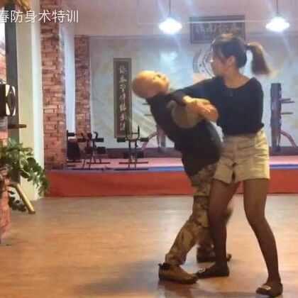 #咏春拳##女子防身术##批肘劈+手刀##一击KO,线上教学视频##教练微信:y0758com#