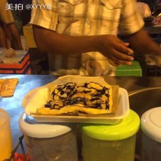 泰国自由行#香蕉薄饼##泰国之旅#