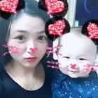#faceu#我和妈妈变成米老鼠了😝