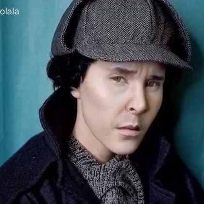 #美妆时尚##化妆#Benedict Cumberbatch 本尼迪克特康伯巴奇 卷福! 夏洛克福尔摩斯妆容by anastasiya shpagina 好久不见的红发mm!😘😘