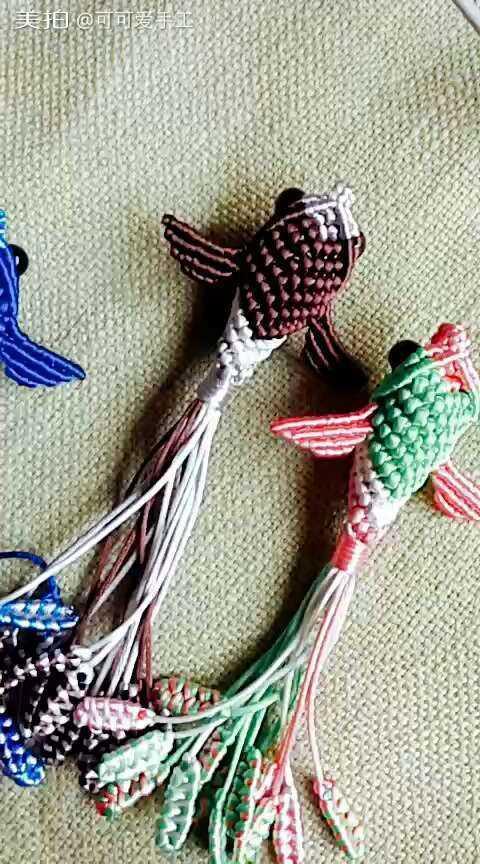 中国结手工编织珍珠人字拖鞋