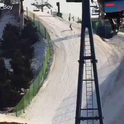 2017 滑雪记录 #单板滑雪##我要上热门##滑雪#