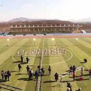 FFC出道MV花絮之DAY1#足球女团#