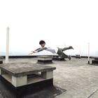 """卡拉宝""""X-BOX""""骑跑精英赛预热短片#跑酷##攀爬车#"""