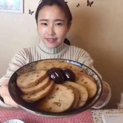 蜜汁糯米藕,最受金陵美女喜爱的甜品!女性经期吃它特别好,女子三日不断藕!特别养身体,快点get√😋#美食##自制甜品#