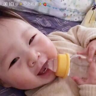 #宝宝#天天看元宝的样子有没有想象一下安阳小时候同样月龄时是什么模样呢😏想看点❤️😬@美拍小幫手 @宝宝频道官方账号