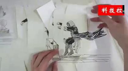 大神 Serene Teh 创意爆棚的刺客信条创意手绘剪纸动画,简直炫酷到炸,BGM太燃了!#涨姿势##手工#
