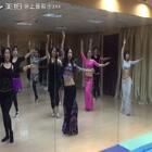 """#第一个美拍##舞蹈#不知道的还以为我是教练呢🙈其实我只是会员班的学员而已,我们都是""""常州舞S""""陈雅欣老师教的😄"""