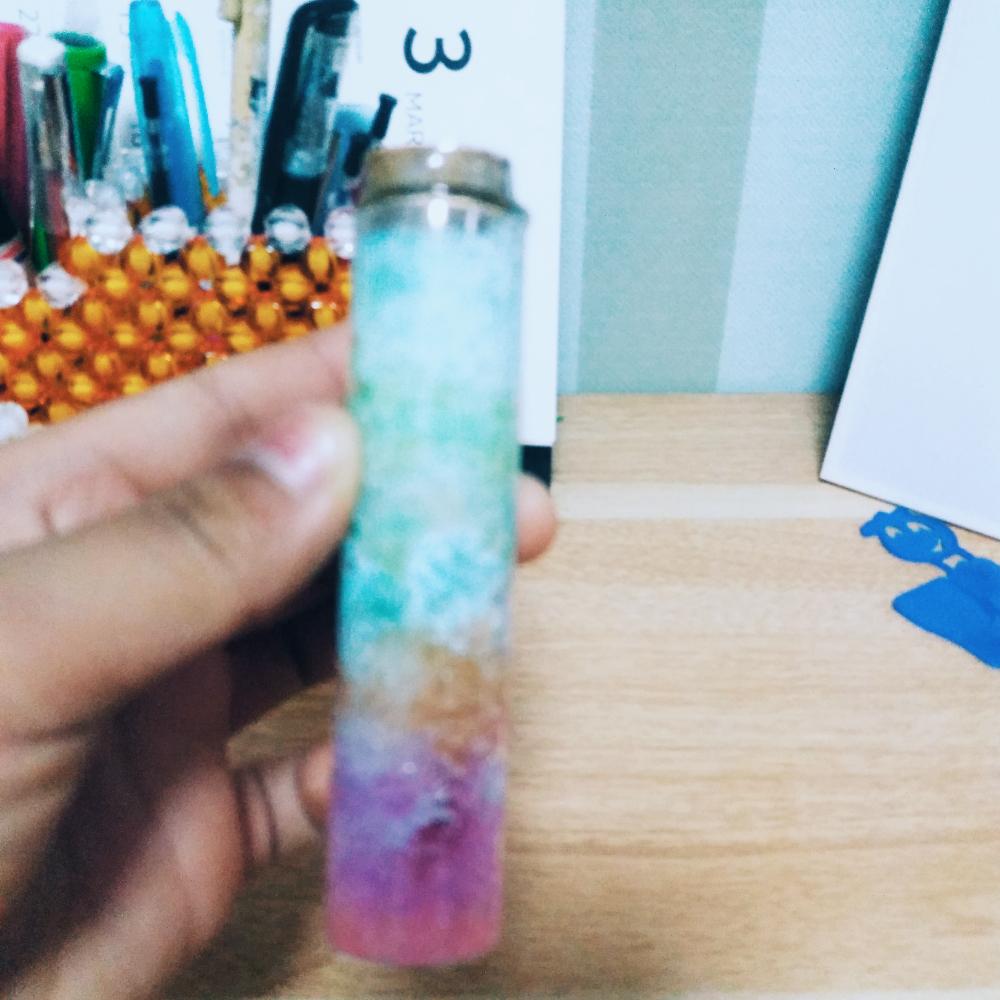 儿童手工制作花花笔筒