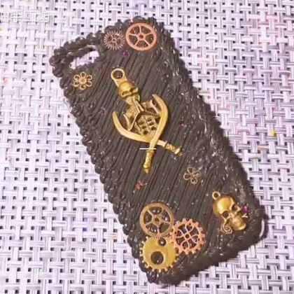 #手工##奶油手机壳##我要上热门@美拍小助手#@Vv酱💜💙💛 @爱猫狗的人都不会太差 做的简单了些,希望你喜欢。