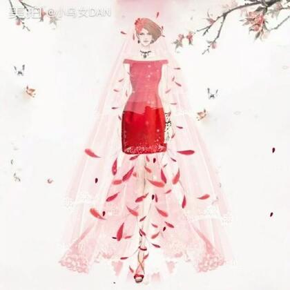 #花的嫁纱#花的嫁纱系列44,许久未更新嫁纱作品,你更喜欢白纱飘飘,还是红色纱羽~第一套嫁纱凸显身材曲线,头纱和翅膀做了颜色处理,与背景颜色形成对称~第二套红色,和羽毛搭配,仙气十足💋#时尚##创意#喜欢记得双击点赞😘