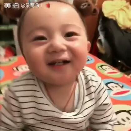 笑点低 逗一下就笑 🙈🙈#宝宝#