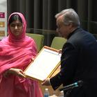 马拉拉成为史上最年轻的联合国和平使者