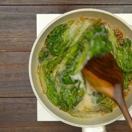 蚝油生菜,可以边吃边减肥啦!#美食##魔力美食#