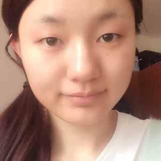 #全民半脸妆##半脸妆挑战##5分钟美拍# 无眉到有眉 单眼皮到双眼皮 😂😂