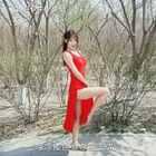 阳光 蘑菇与樱花 🌸#舞蹈##女神#