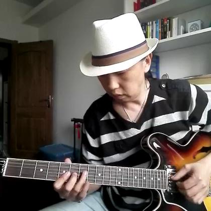 经典布鲁斯乐句分享(8)一个味道纯正的Blues Riff,适用于所有和弦😀 #音乐##吉他##布鲁斯#