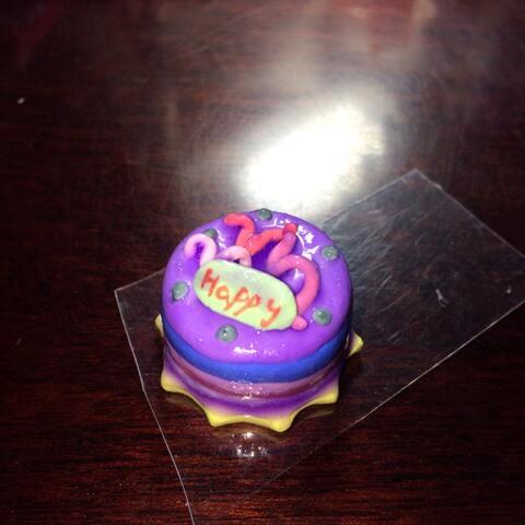 #世界##彩泥v世界##蛋糕#我的手工快到了随便我的技巧刷头的小生日图片