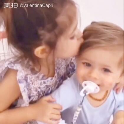 I love you Romeo #宝宝##瓦伦蒂娜卡朴蕊##BabyRomeo#