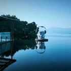 """#我要上热门##泰国#萨瓦迪卡""""苏梅岛""""美美的我配上美美的海😂不过沙子像玻璃碴子一样一点扎脚""""哈哈哈"""