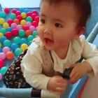 #宝宝##萌宝宝##可爱宝宝#最爱捡球了