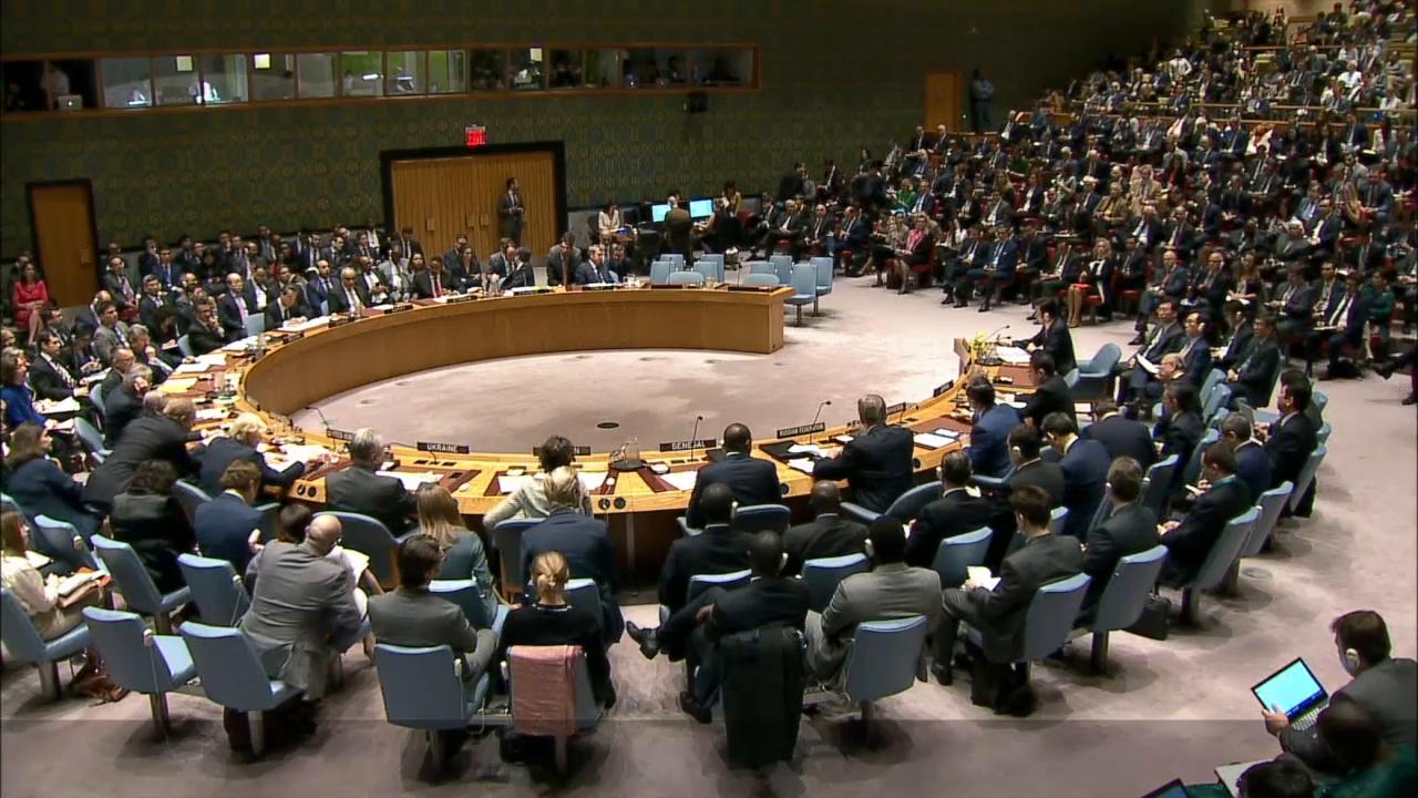在当前剑拔弩张的紧张气氛中,安理会4月28日举行了一次部长级辩论,关注朝鲜问题的各国纷纷发言阐述自己的立场。