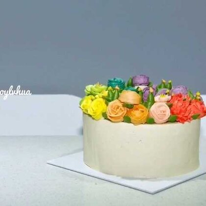 #生日快乐##蛋糕今天的颜值担当!