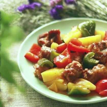 没想到!菠萝和排骨才是最配的💪酸甜的菠萝搭配酥脆的排骨,这味道没谁了😉@美拍小助手 @美食频道官方号 #美食##热门#